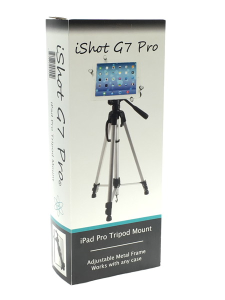 Solid Metal Tripod Mount for iPad Pro 12.9 Image
